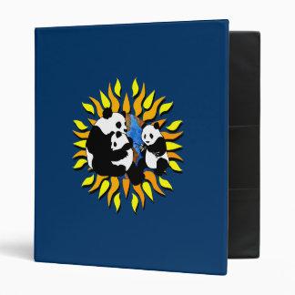 Panda Planet 3 Ring Binder