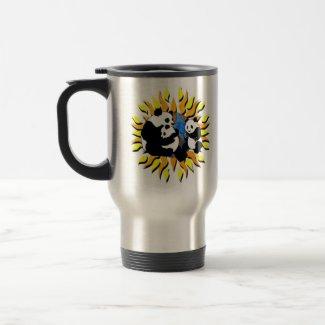 Panda Planet mug