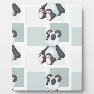 panda photo plaques
