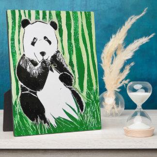 Panda Plaque, 8 x 10 Inches