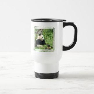 Panda Plastic Travel Mug
