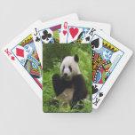 Panda Playing Cards