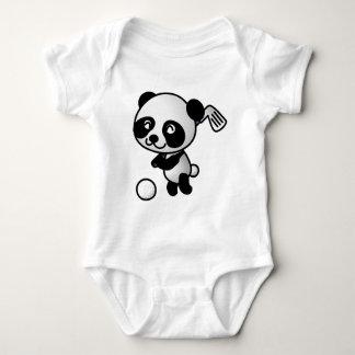 Panda playing golf t shirts