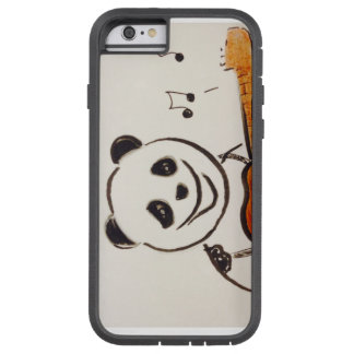 Panda plays guitar iPhone case