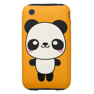 Panda Plushie Tough iPhone 3 Covers
