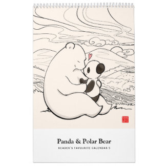 Panda & Polar Bear - Reader's Favourite Calendar 5