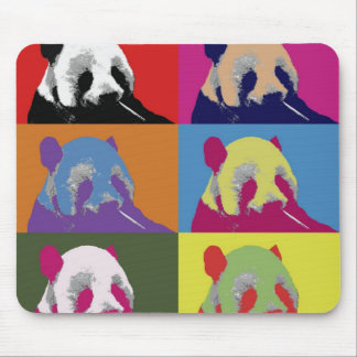 Panda Pop Art 2 Mouse Pads