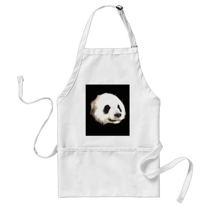 Panda Pop Art Adult Apron