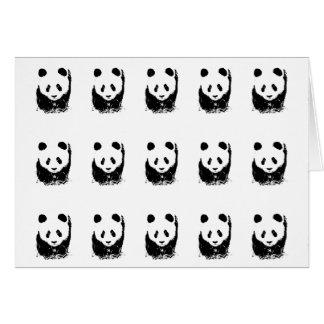 Panda Pop Art Card