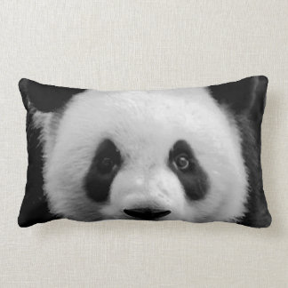 Panda Pop Art Lumbar Pillow