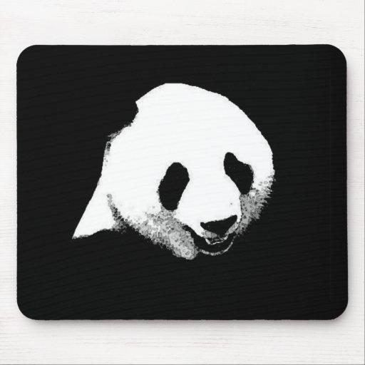 Panda Pop Art Mouse Pad