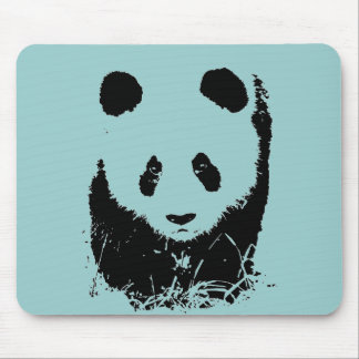 Panda Pop Art Mouse Pad