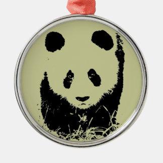 Panda Pop Art Ornament