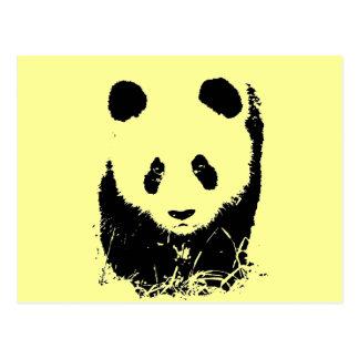 Panda Pop Art Postcard