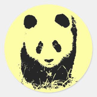 Panda Pop Art Sticker
