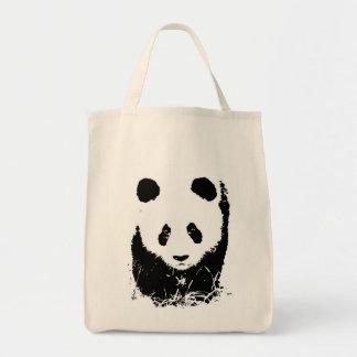 Panda Pop Art Tote Bag