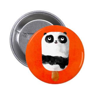 Panda Popsicle Ice Cream Button