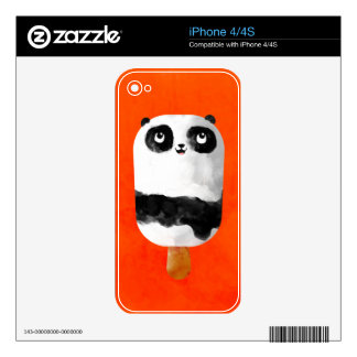 Panda Popsicle Ice Cream Decal For The iPhone 4