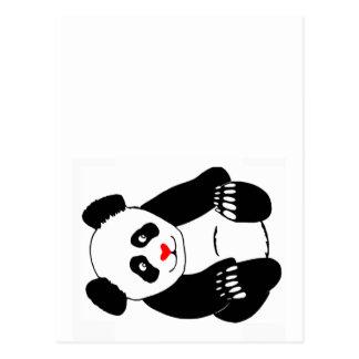 Panda Post Postcard