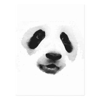 Panda Postcard