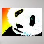 panda. póster