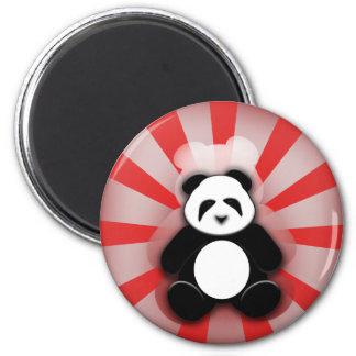 Panda Power! 2 Inch Round Magnet