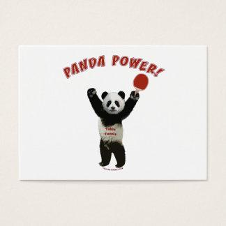 Panda Power Ping Pong Business Card