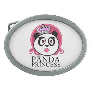 Panda Princess Belt Buckle