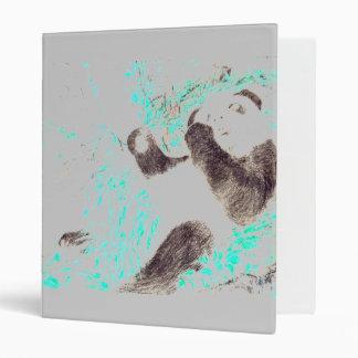 Panda Print Binder