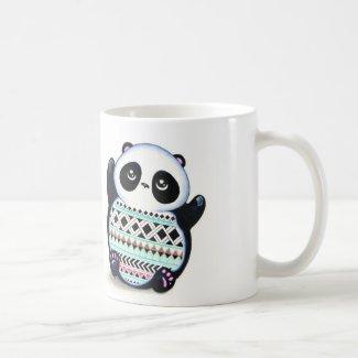 Panda Print Mugs