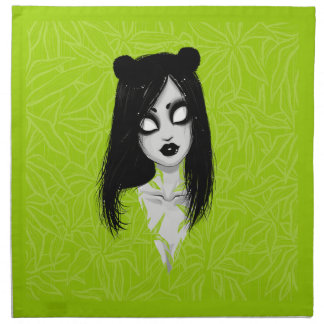 _panda printed napkins