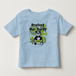 Panda Protect Our Earth T-shirts and Gifts