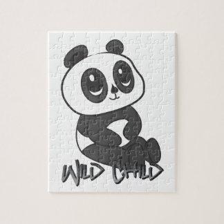 Panda puzzel puzzle