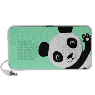 Panda que agita mini altavoz