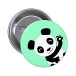 Panda que agita pins