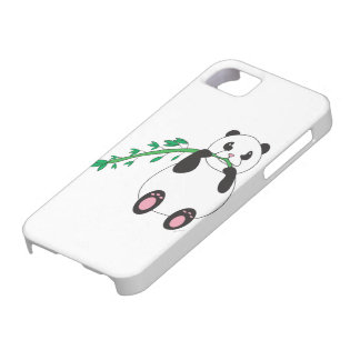 Panda que come la caja de bambú de la casamata iPhone 5 Case-Mate cárcasas