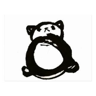 Panda quisquillosa tarjetas postales