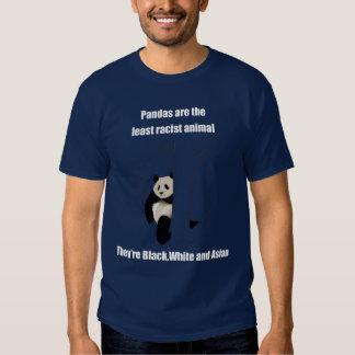 Panda racista playeras