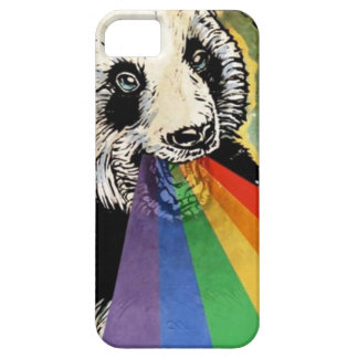 panda rainbow iPhone SE/5/5s case