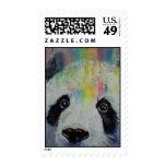 Panda Rainbow Stamp