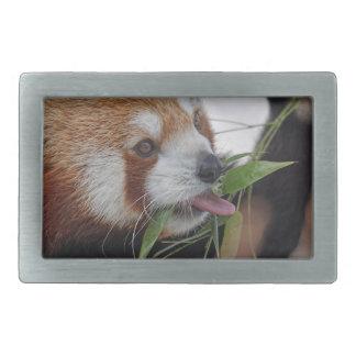 panda red animal print cute belt buckle