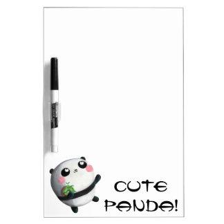 Panda redonda linda tableros blancos