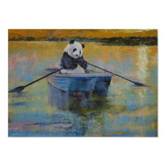 Panda Reflections Invitations