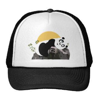 Panda Relaxing Trucker Hat