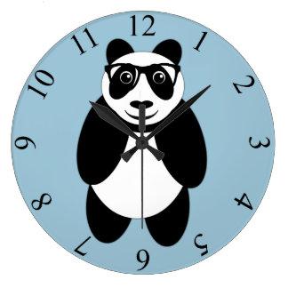 Panda Reloj Redondo Grande