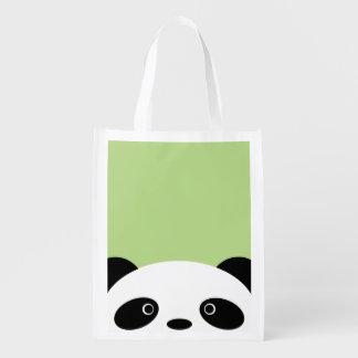 Panda Reusable Grocery Bags