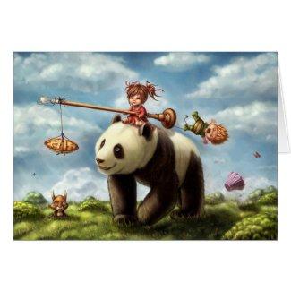 Panda Ride card