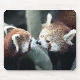Panda roja #1-Mousepad Tapete De Ratón