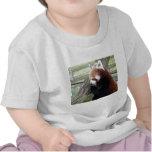Panda roja camisetas