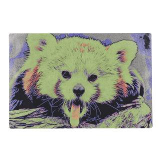 Panda roja de bostezo del estudio 12216 del arte tapete individual